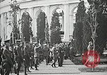 Image of first burial ceremony at Tomb of the Unknown Soldier Arlington Virginia USA, 1921, second 47 stock footage video 65675021991
