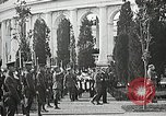 Image of first burial ceremony at Tomb of the Unknown Soldier Arlington Virginia USA, 1921, second 48 stock footage video 65675021991