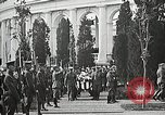 Image of first burial ceremony at Tomb of the Unknown Soldier Arlington Virginia USA, 1921, second 49 stock footage video 65675021991