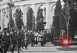 Image of first burial ceremony at Tomb of the Unknown Soldier Arlington Virginia USA, 1921, second 51 stock footage video 65675021991