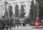 Image of first burial ceremony at Tomb of the Unknown Soldier Arlington Virginia USA, 1921, second 52 stock footage video 65675021991