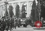 Image of first burial ceremony at Tomb of the Unknown Soldier Arlington Virginia USA, 1921, second 53 stock footage video 65675021991