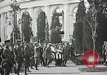 Image of first burial ceremony at Tomb of the Unknown Soldier Arlington Virginia USA, 1921, second 54 stock footage video 65675021991