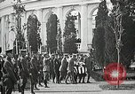 Image of first burial ceremony at Tomb of the Unknown Soldier Arlington Virginia USA, 1921, second 55 stock footage video 65675021991