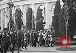 Image of first burial ceremony at Tomb of the Unknown Soldier Arlington Virginia USA, 1921, second 56 stock footage video 65675021991