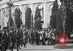 Image of first burial ceremony at Tomb of the Unknown Soldier Arlington Virginia USA, 1921, second 57 stock footage video 65675021991