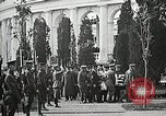 Image of first burial ceremony at Tomb of the Unknown Soldier Arlington Virginia USA, 1921, second 58 stock footage video 65675021991
