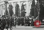 Image of first burial ceremony at Tomb of the Unknown Soldier Arlington Virginia USA, 1921, second 59 stock footage video 65675021991