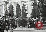 Image of first burial ceremony at Tomb of the Unknown Soldier Arlington Virginia USA, 1921, second 60 stock footage video 65675021991