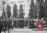 Image of first burial ceremony at Tomb of the Unknown Soldier Arlington Virginia USA, 1921, second 61 stock footage video 65675021991