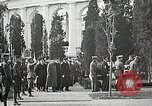 Image of first burial ceremony at Tomb of the Unknown Soldier Arlington Virginia USA, 1921, second 62 stock footage video 65675021991