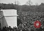 Image of American Unknown Soldier Arlington Virginia USA, 1921, second 22 stock footage video 65675021992