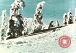 Image of snow covered area United States USA, 1963, second 3 stock footage video 65675022000