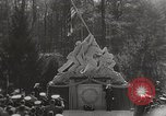 Image of Marine Corps War Memorial original and final version Virginia United States USA, 1955, second 5 stock footage video 65675022004