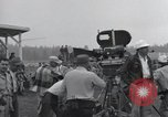 Image of Troops of the 44th Infantry Division take part in filming of a movie Fort Lewis Washington USA, 1954, second 13 stock footage video 65675022005