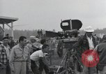 Image of Troops of the 44th Infantry Division take part in filming of a movie Fort Lewis Washington USA, 1954, second 15 stock footage video 65675022005