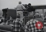 Image of Troops of the 44th Infantry Division take part in filming of a movie Fort Lewis Washington USA, 1954, second 25 stock footage video 65675022005