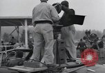 Image of Troops of the 44th Infantry Division take part in filming of a movie Fort Lewis Washington USA, 1954, second 30 stock footage video 65675022005