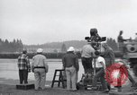 Image of Troops of the 44th Infantry Division take part in filming of a movie Fort Lewis Washington USA, 1954, second 61 stock footage video 65675022005