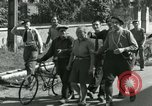Image of woman collaborator Paris France, 1944, second 6 stock footage video 65675022025