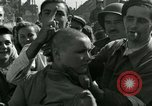 Image of woman collaborator Paris France, 1944, second 36 stock footage video 65675022025