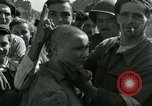Image of woman collaborator Paris France, 1944, second 38 stock footage video 65675022025