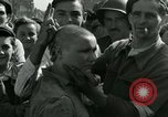 Image of woman collaborator Paris France, 1944, second 39 stock footage video 65675022025