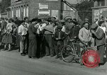 Image of woman collaborator Paris France, 1944, second 58 stock footage video 65675022025