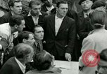 Image of women collaborator Paris France, 1944, second 25 stock footage video 65675022027