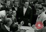 Image of women collaborator Paris France, 1944, second 28 stock footage video 65675022027