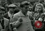 Image of women collaborator Paris France, 1944, second 29 stock footage video 65675022027