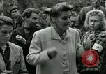 Image of women collaborator Paris France, 1944, second 30 stock footage video 65675022027