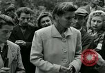 Image of women collaborator Paris France, 1944, second 34 stock footage video 65675022027