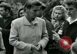 Image of women collaborator Paris France, 1944, second 38 stock footage video 65675022027