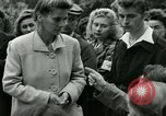 Image of women collaborator Paris France, 1944, second 39 stock footage video 65675022027