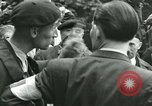 Image of women collaborator Paris France, 1944, second 42 stock footage video 65675022027