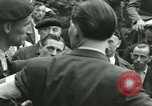 Image of women collaborator Paris France, 1944, second 43 stock footage video 65675022027