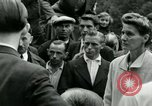 Image of women collaborator Paris France, 1944, second 48 stock footage video 65675022027