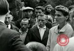 Image of women collaborator Paris France, 1944, second 49 stock footage video 65675022027
