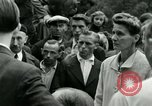 Image of women collaborator Paris France, 1944, second 50 stock footage video 65675022027