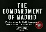 Image of Spanish Nationalist Army Madrid Spain, 1936, second 3 stock footage video 65675022043