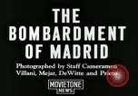 Image of Spanish Nationalist Army Madrid Spain, 1936, second 5 stock footage video 65675022043
