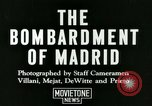 Image of Spanish Nationalist Army Madrid Spain, 1936, second 10 stock footage video 65675022043