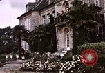 Image of French chateaux Negreville Normandy France, 1944, second 22 stock footage video 65675022050