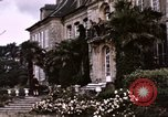 Image of French chateaux Negreville Normandy France, 1944, second 23 stock footage video 65675022050