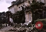 Image of French chateaux Negreville Normandy France, 1944, second 24 stock footage video 65675022050