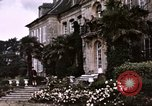Image of French chateaux Negreville Normandy France, 1944, second 25 stock footage video 65675022050
