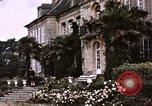 Image of French chateaux Negreville Normandy France, 1944, second 28 stock footage video 65675022050