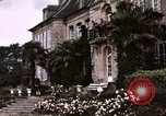 Image of French chateaux Negreville Normandy France, 1944, second 29 stock footage video 65675022050