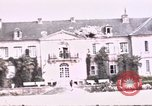 Image of French chateaux Negreville Normandy France, 1944, second 52 stock footage video 65675022050